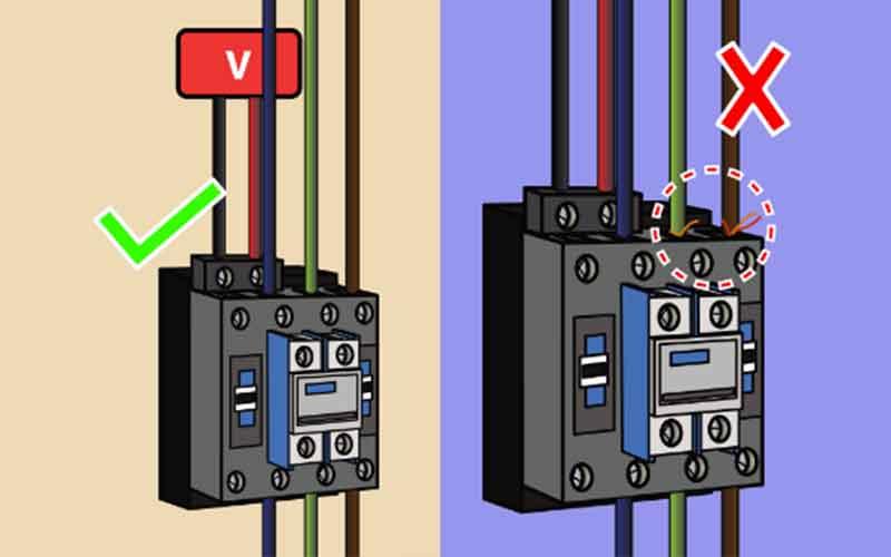 lưu ý khi chuyển điện về 220V