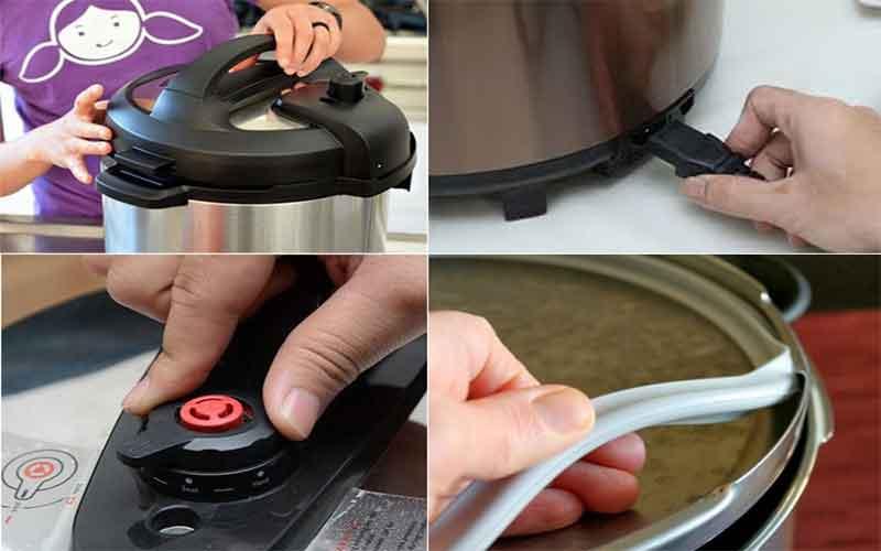 Cách sử dụng nồi áp suất điện Sunhouse