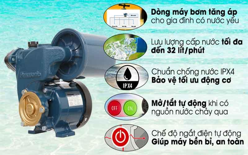 lưu ý dùng máy bơm nước