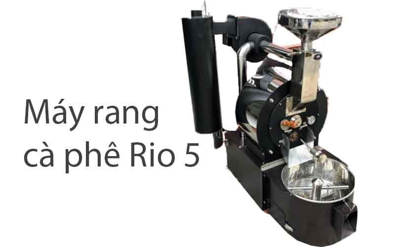 máy rang cà phê bằng điện rio5