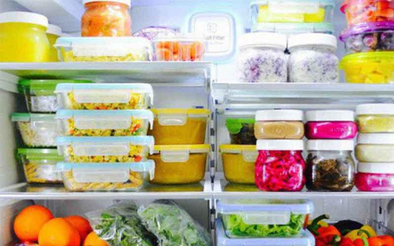 ngăn đông tủ lạnh nhiều thực phẩm
