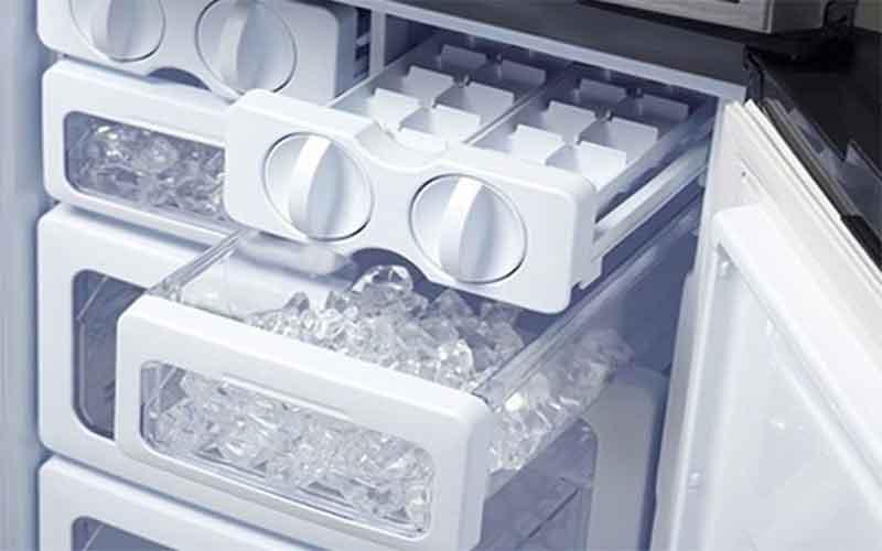 nguyên nhân tủ lạnh không rơi đá