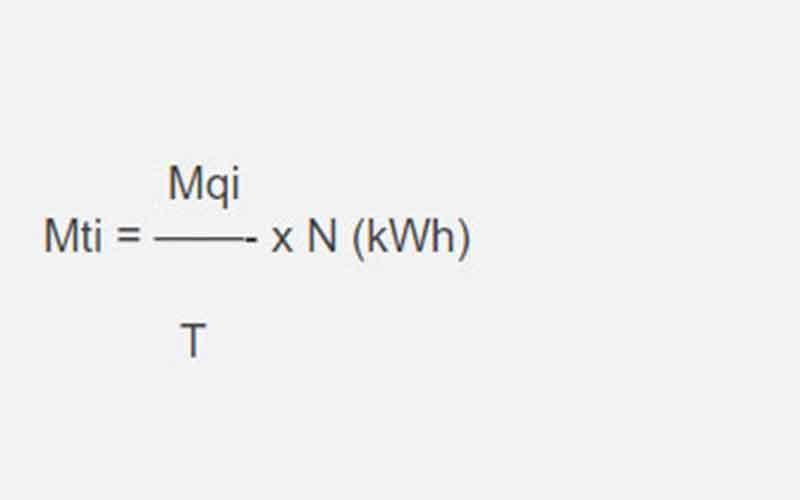 công thức tính giá điện sinh hoạt