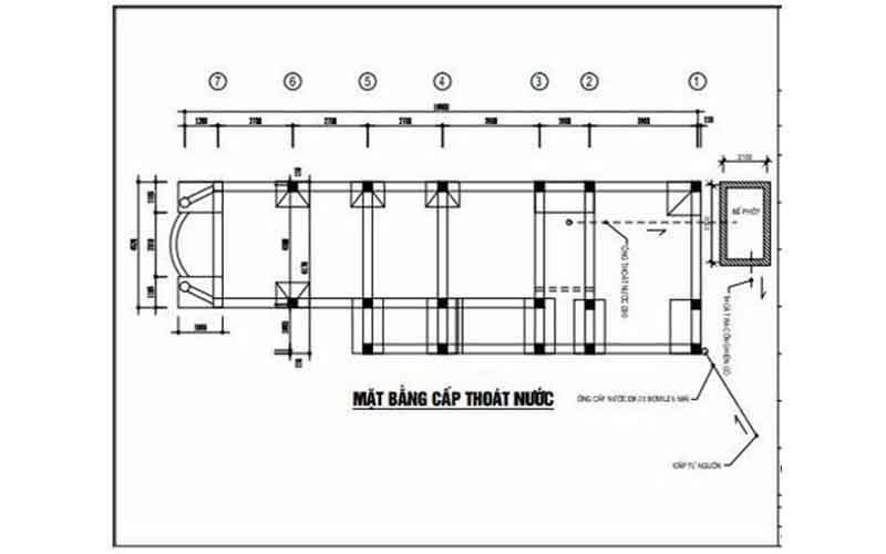 sơ đồ lắp đặt ống nước nhà vệ sinh