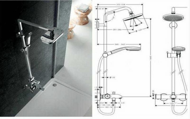 cách lắp đặt điện nước cùng với vòi sen